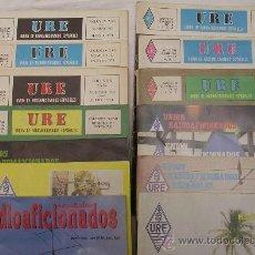 Radios antiguas: UNIÓN RADIOAFICIONADOS ESPAÑOLES URE - NÚMEROS SUELTOS - VARIOS AÑOS. Lote 27651095