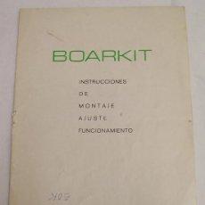 Radios antiguas: BOARKIT - KIT Nº 20 - MODULADOR EMISORA 3 W - MONTAJE - AJUSTE - FUNCIONAMIENTO. Lote 27732034