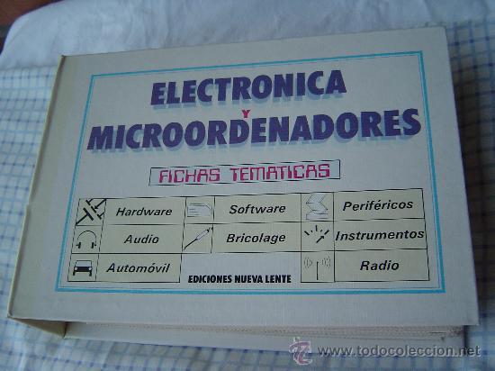 ELECTRONICA Y MICROORDENADORES (Radios, Gramófonos, Grabadoras y Otros - Catálogos, Publicidad y Libros de Radio)