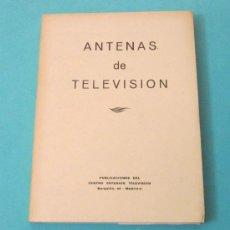 Radios antiguas: ANTENAS DE TELEVISIÓN. CENTRO ESTUDIOS TELEVISIÓN. Lote 28770070