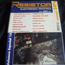 Radios antiguas: RESISTOR-ELECTRONICA PRACTICA-MAS DE 300 PAGS -AÑO 1980-ESQUEMAS AMPLIFICADORES, MESA DE MEZCLAS.ETC. Lote 28938598