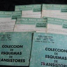 Radios antiguas: ESCUELA DE RADIO MAYMO-CURSO DE RADIO POR CORRESPONDENCIA-AÑO 1963. Lote 29224251