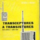 Radios antiguas: TRANSCEPTORES A TRANSISTORES - RADIOTELÉFONOS O WALKIE TALKIE (CEDEL, 1967). Lote 29266888