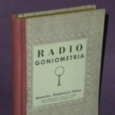 Radios antiguas: RADIOGONIOMETRÍA PRÁCTICA.. Lote 29276894