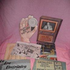 Radios antiguas: EXCEPCIONAL LOTE DE CATALOGOS Y PUBLICIDAD DE RADIO MAYMO - AÑO 1950.. Lote 29316054
