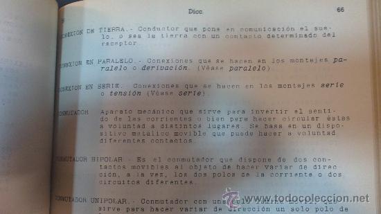 Radios antiguas: ESCUELA DE RADIO(MAYMO).CURSO DE RADIO.LECCIONES DE;MATEMATICAS,COMERCIALES,DICCIONARIO,EJERCICIOS,. - Foto 5 - 29580537