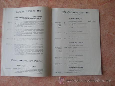 Radios antiguas: CATALOGO DE ACCESORIOS DE RADIO DE EXCLUSIVAS GARIBAY DE SEVILLA,OCTUBRE DE 1951 - Foto 2 - 29951241