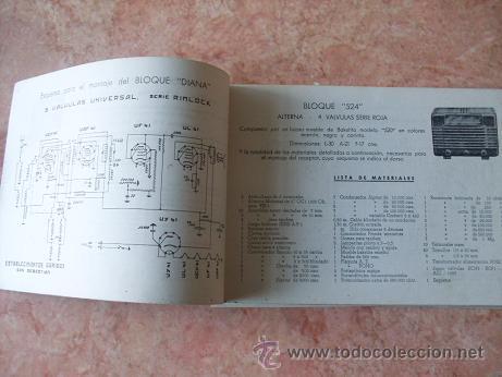 Radios antiguas: CATALOGO ESTABLECIMIENTOS GARIBAY DE SAN SEBASTIAN,APARATOS DE RADIO,MUEBLES,REPUESTOS,ETC,AÑO 1949 - Foto 2 - 30030672