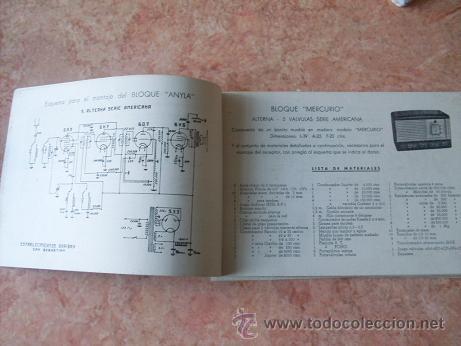 Radios antiguas: CATALOGO ESTABLECIMIENTOS GARIBAY DE SAN SEBASTIAN,APARATOS DE RADIO,MUEBLES,REPUESTOS,ETC,AÑO 1949 - Foto 3 - 30030672