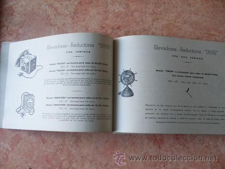 Radios antiguas: CATALOGO ESTABLECIMIENTOS GARIBAY DE SAN SEBASTIAN,APARATOS DE RADIO,MUEBLES,REPUESTOS,ETC,AÑO 1949 - Foto 4 - 30030672