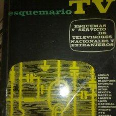 Radios antiguas: ESQUEMAS TV NACIONALES Y EXTRANJEROS, VALVULAS, RADIO NO. Lote 30252405