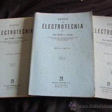 Radios antiguas: CURSO COMPLETO DE ELECTROTECNIA- TRES LIBROS CON 1750 PAGS-AÑO 1963. Lote 31315352
