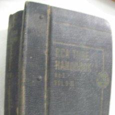 Radios antiguas: ANTIGUO LIBRO RCA TUBE HANDBOOK VOL. 8 - 10 (EM1). Lote 31607613
