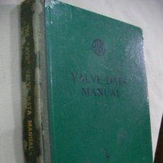 Radios antiguas: ANTIGUO LIBRO MANUAL DE INFORMACION DE VALVULAS AVO AÑO 1960 (EM1). Lote 31615413