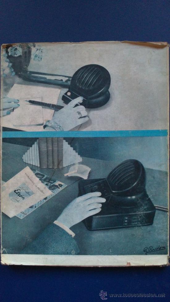 &-.RADIO ENCICLOPEDIA Nº 9 .- ANTENAS RECEPTORAS Y DE TRANSMISION.- ED. BRUGUERA.- AÑO 1944 - (Radios, Gramófonos, Grabadoras y Otros - Catálogos, Publicidad y Libros de Radio)