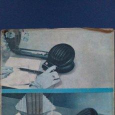 Radios antiguas: &-.RADIO ENCICLOPEDIA Nº 9 .- ANTENAS RECEPTORAS Y DE TRANSMISION.- ED. BRUGUERA.- AÑO 1944 -. Lote 31637570