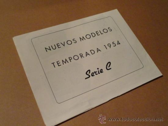 Radios antiguas: FOLLETO CATALOGO PUBLICIDAD RADIO (NUEVOS MODELOS DE RADIO TEMPORADA 1954 SERIE C ) - Foto 8 - 31736563