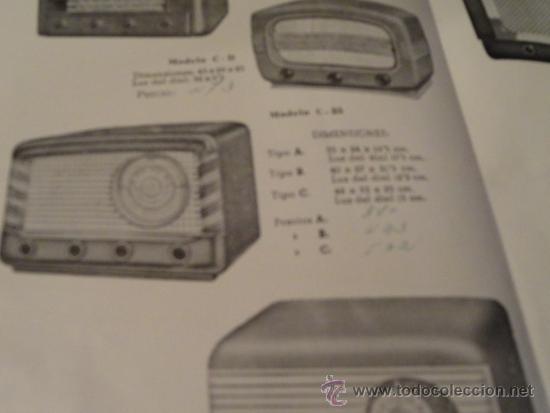 Radios antiguas: FOLLETO CATALOGO PUBLICIDAD RADIO , LABORATORIO TECNICO URANO RADIO (BARCELONA) - Foto 6 - 31736707