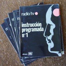 Radios antiguas: INSTRUCCION PROGRAMADA RADIO Y TV AFHA...SANNA. Lote 31777364