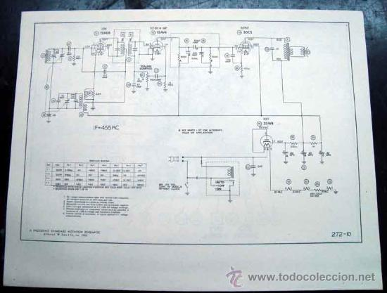 Radios antiguas: Electronica, Documentacion tecnica radio reloj Philco mod, C579 - C579 - C716 - C718 y C720 - Foto 3 - 31883793