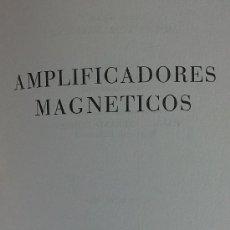 Radios antiguas: &-AMPLIFICADORES MAGNETICOS-(EDITORIAL REDE AÑO1964). Lote 32202672