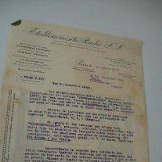 Radios antiguas: CARTA DE OFRECIMIENTO: ETABLISSEMENTS RADIO - PARIS 23 AGOSTO 1928-BABYS Y SUPER BABYS. Lote 32564711