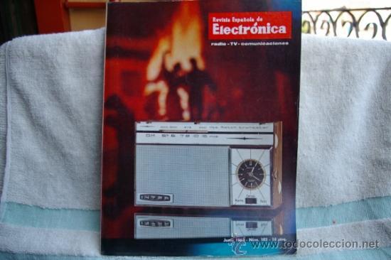 REVISTA ESPAÑOLA DE ELECTRONICA-N-103 -JUNIO DE 1963 (Radios, Gramófonos, Grabadoras y Otros - Catálogos, Publicidad y Libros de Radio)