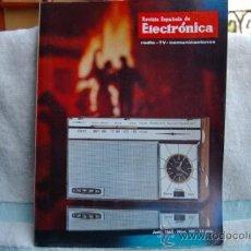 Radios antiguas: REVISTA ESPAÑOLA DE ELECTRONICA-N-103 -JUNIO DE 1963. Lote 32589147