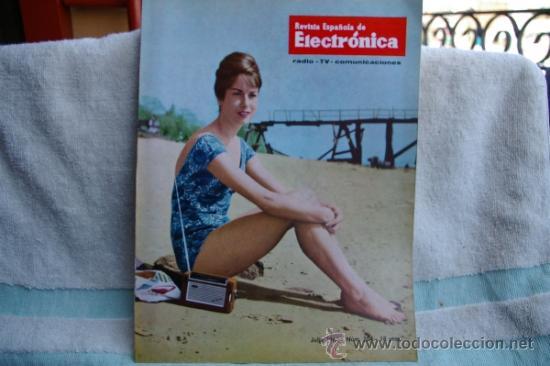REVISTA ESPAÑOLA DE ELECTRONICA-N-104 JULIO 1963 (Radios, Gramófonos, Grabadoras y Otros - Catálogos, Publicidad y Libros de Radio)