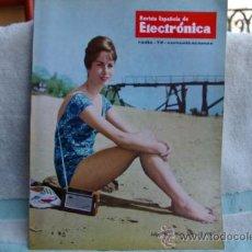 Radios antiguas: REVISTA ESPAÑOLA DE ELECTRONICA-N-104 JULIO 1963. Lote 32589168