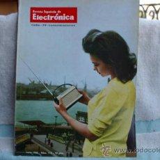 Radios antiguas: REVISTA ESPAÑOLA DE ELECTRONICA-N-115-JUNIO DE 1964. Lote 32589182