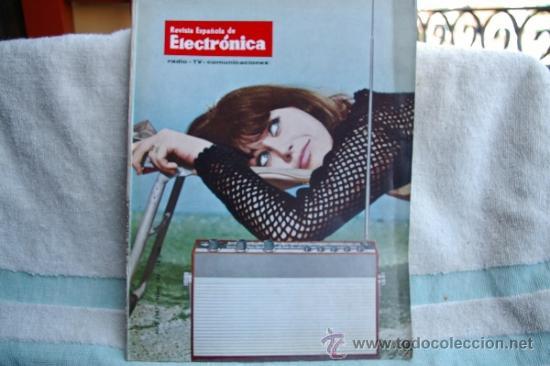 REVISTA ESPAÑOLA DE ELECTRONICA-N-149 -ABRIL DE 1967 (Radios, Gramófonos, Grabadoras y Otros - Catálogos, Publicidad y Libros de Radio)