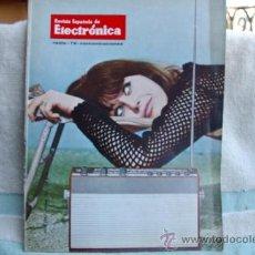 Radios antiguas: REVISTA ESPAÑOLA DE ELECTRONICA-N-149 -ABRIL DE 1967. Lote 32589194