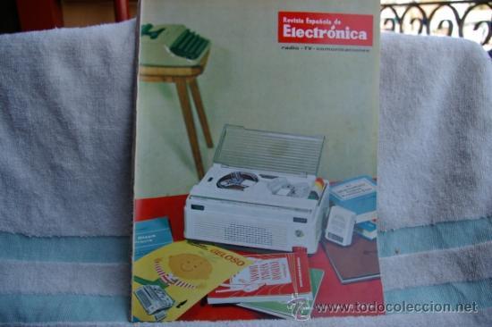 REVISTA ESPAÑOLA DE ELECTRONICA-N-112 -MARZO DE 1964 (Radios, Gramófonos, Grabadoras y Otros - Catálogos, Publicidad y Libros de Radio)