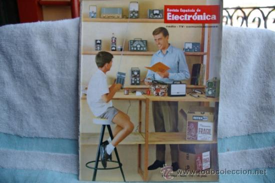 REVISTA ESPAÑOLA DE ELECTRONICA-N-110 -ENERO DE 1964 (Radios, Gramófonos, Grabadoras y Otros - Catálogos, Publicidad y Libros de Radio)