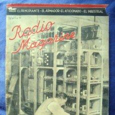 Radios antiguas: ELECTRONICA, REVISTA - RADIO MAGAZINE Nº 215 - MAYO 1944. Lote 51163658