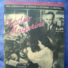 Radios antiguas: ELECTRONICA, REVISTA - RADIO MAGAZINE Nº 214 - ABRIL 1944. Lote 32591572