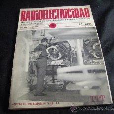 Radios antiguas: RADIOELECTRICIDAD-RADIO ,TV-AÑO 1973-MUCHOS ESQUEMAS. Lote 32848317