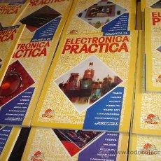Radios antiguas: LOTE 18 LIBROS ENCICLOPEDIA PRACTICA ELECTRONICA-RADIO,TEORIA,MICROS,COMPONENTES ETC. Lote 32869282