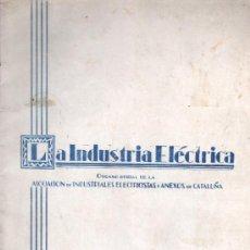 Radios antiguas: INTERESANTE REVISTA DE RADIO - EXTRAORDINARIA DE NOVIEMBRE 1931 BARCELONA . Lote 33343113