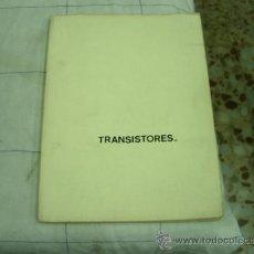 Radios antiguas: TRANSISTORES. Lote 37022277