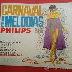 Radios antiguas - CATALOGO GENERAL PHILIPS RADIO GRAMOFONOS Y TELEVISION 1966 - 37895679