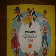 Radios antiguas: RADIO PHILIPS 1953. Lote 38295604
