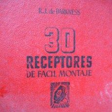 Radios antiguas - 30 RECEPTORES DE FACIL MONTAJE 1944.244 PG.DARKNESS RADIO - 38839511