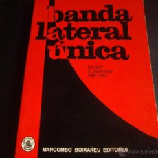 Radios antiguas: BANDA LATERAL UNICA-RADIO-MARCOMBO 1974-ESQUEMAS DESPLEGABLES-. Lote 39697074