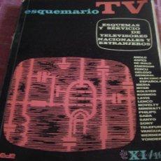 Radios antiguas: ESQUEMARIO DE TV-1975-REDE. Lote 39732883