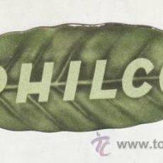Radios antiguas: PHILCO. RADIOS, RADIOGRAMOLAS, REFRIGERADORES, ACONDICIONAMIENTO DE AIRE, UTENSILIOS DOMÉSTICOS.... Lote 39821310