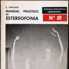 Rádios antigos: MANUAL PRÁCTICO DE ESTEREOFONIA - Nº 2 - CLIVE SINCLAIR - 1968. Lote 40800119