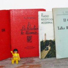 Radios antiguas: LA RADIO TE LLAMA DE BRUGERA BARCELONA MONTUL LIBRO ANTIGUO REPARACION RADIOS ANTIGUAS RADIO ANTIGUA. Lote 41749259