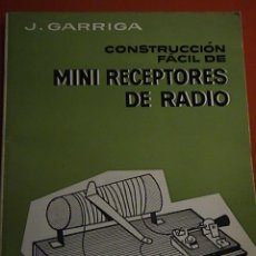 Radios antiguas: MINI RECEPTORES DE RADIO. Lote 42067160